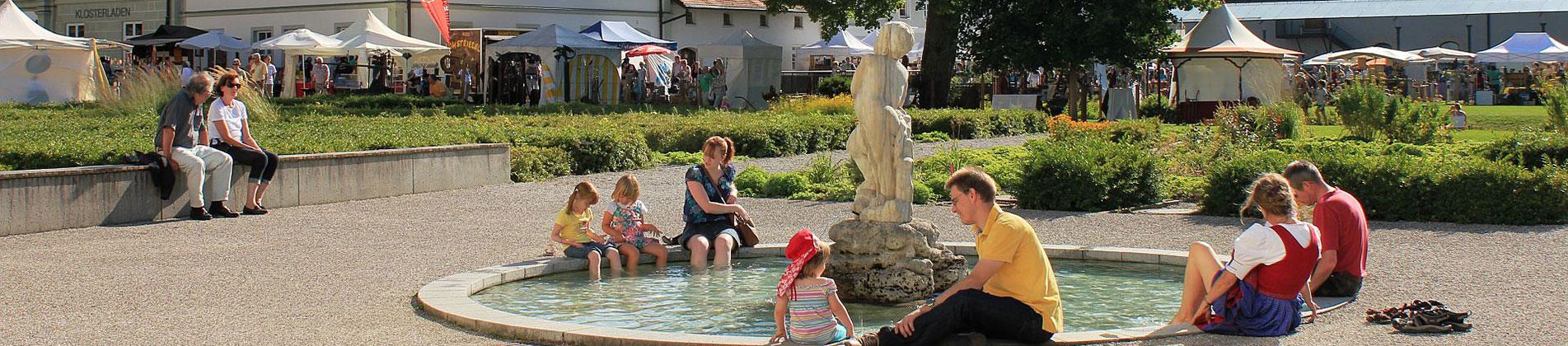 Brunnen am Kloster Fürstenfeld
