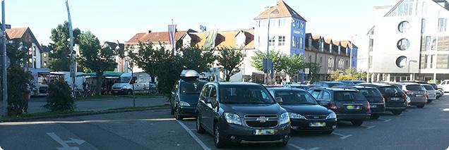Fürstenfeldbruck Viehmarktplatz September 2015