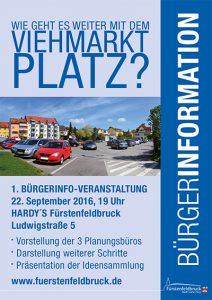 Bürgerinfo Viehmarktplatz 22.09.2016