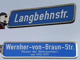 Umfrage Straßenumbenennung