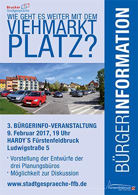 Viehmarktplatz Fürstenfeldbruck 3. Bürgerinfo-Veranstaltung